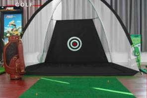 Bộ tập golf lưới lều tập golf LL02 + thảm tập + tặng 3 bóng