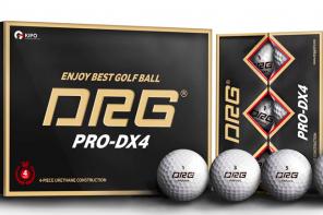 Bóng golf DRG Pro-DX4 (4lớp, 12 bóng/hộp) - Hàn Quốc