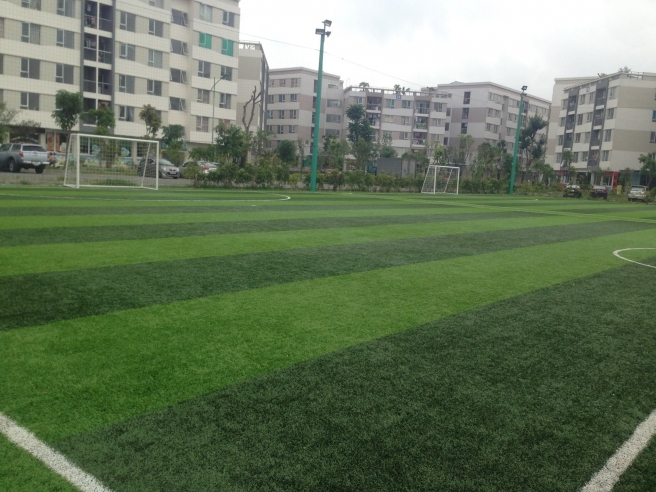 Cung cap co nhan tao va thi cong hoan thien san bong Long Bien _AU2i7 → Công ty AFD grass