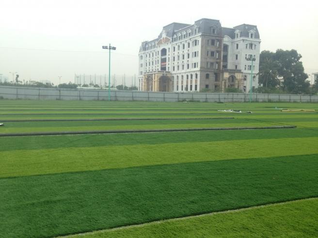 Cung cap co nhan tao va thi cong hoan thien san bong Long Bien _4GmzG → Công ty AFD grass