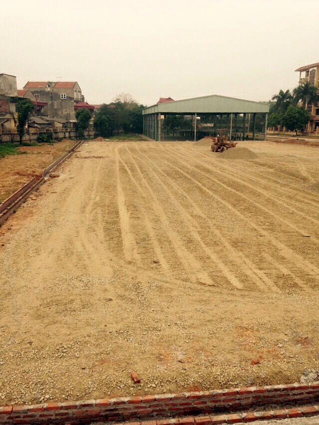 AFD Thi cong san van dong truong dai hoc Su Pham Ha Noi 2 _HUAcN → Công ty AFD grass