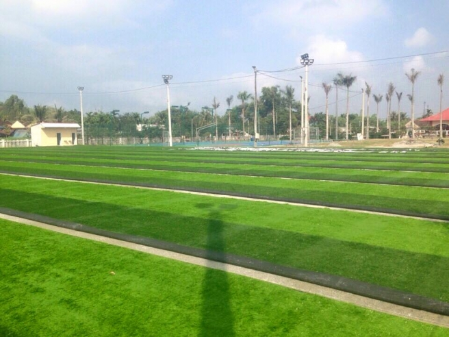 AFD thi cong san bong da co nhan tao tai TT duc Pho, Quang Ngai _GGaVO → Công ty AFD grass