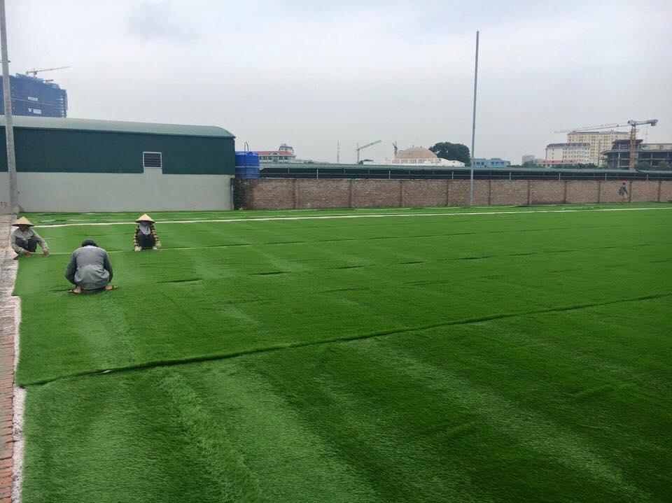 Thi cong san bong duong Le Trong Tan Khuong Mai _jFOtE → Công ty AFD grass