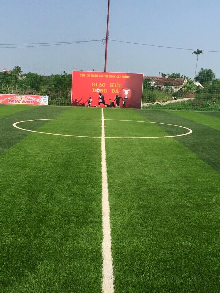 AFD Thi cong san bong tai thi tran Cat Thanh  _MMS8y → Công ty AFD grass