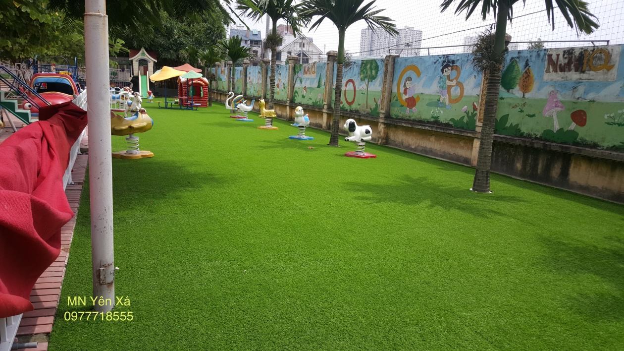 Tham co nhan tao truong mam non Yen Xa _rljrn → Công ty AFD grass