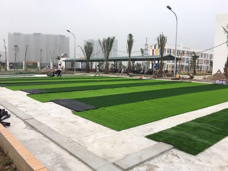 SaN BoNG MINI TRuoNG TIeU HoC Le QUy doN - DuoNG NoI _UWAbQ → Công ty AFD grass