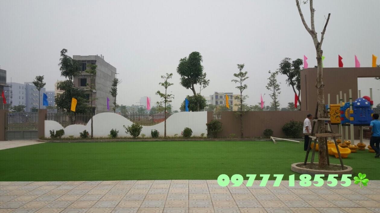 AFD Grass - Cung cap lap dat co nhan tao truong mam non Trang An, Kien Hung, Ha dong, Ha Noi  _Fh1qz → Công ty AFD grass