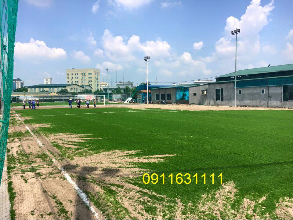 Thi cong san bong duong Le Trong Tan Khuong Mai _55MQu → Công ty AFD grass