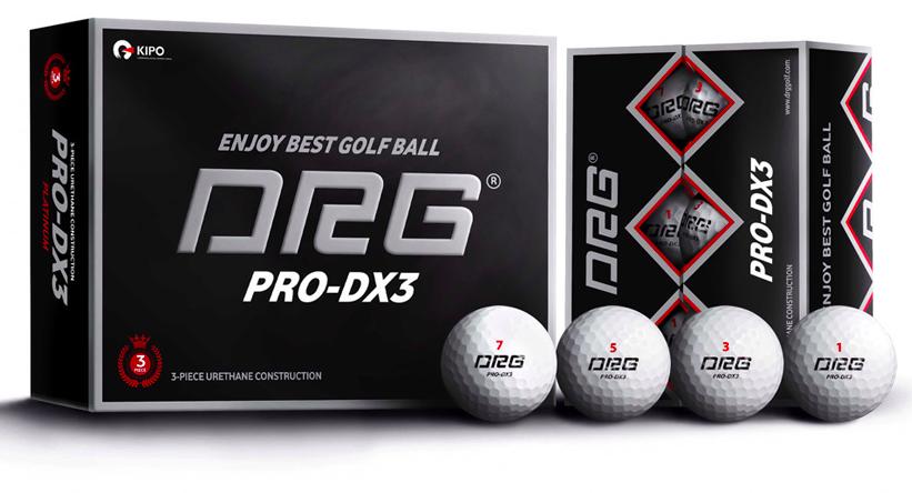 Bong golf PRO-DX3 Platinum NEW Urethane 3PC hop 12 qua, Bong 4 lop _boTCi → Công ty AFD grass