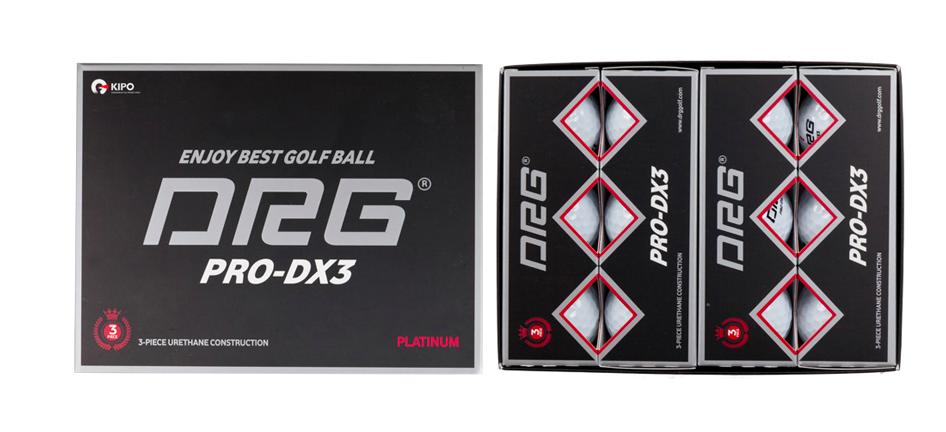 Bong golf PRO-DX3 Platinum NEW Urethane 3PC hop 12 qua, Bong 4 lop _00000 → Công ty AFD grass
