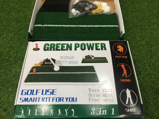 Tham tap Golf Swing Trainers Green Power + 1